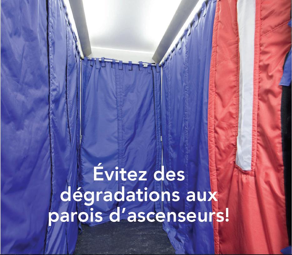 baches ascenseurs des baches de protection pour vos ascenseurs. Black Bedroom Furniture Sets. Home Design Ideas
